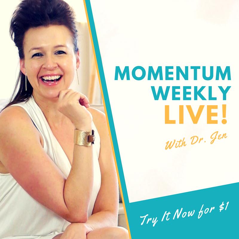 Momentum Weekly LIVE COACHING - Website PROGRAM CTA