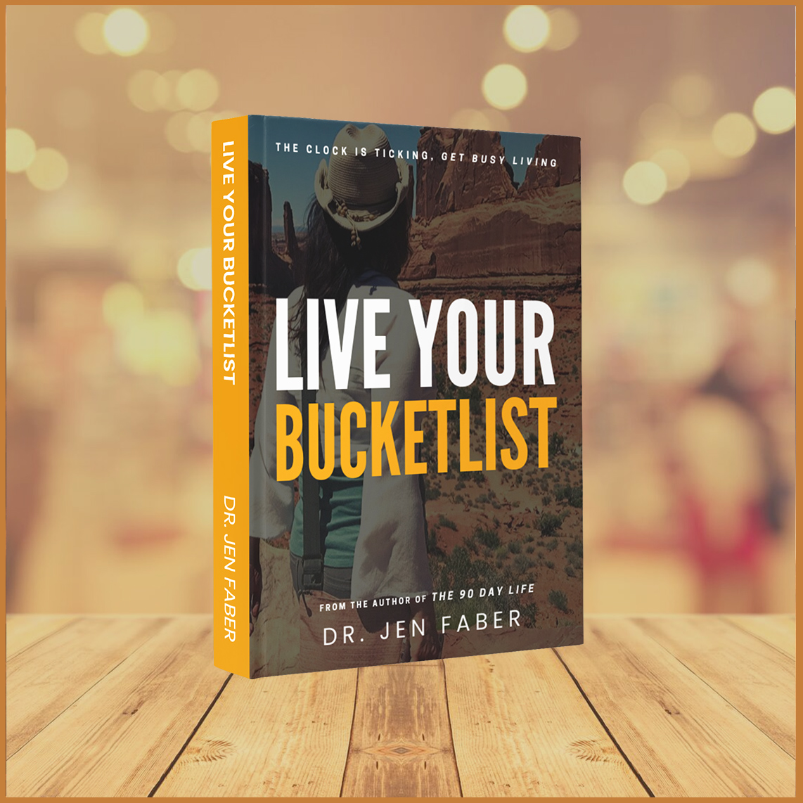 Live Your Bucketlist - Mockup - Shop