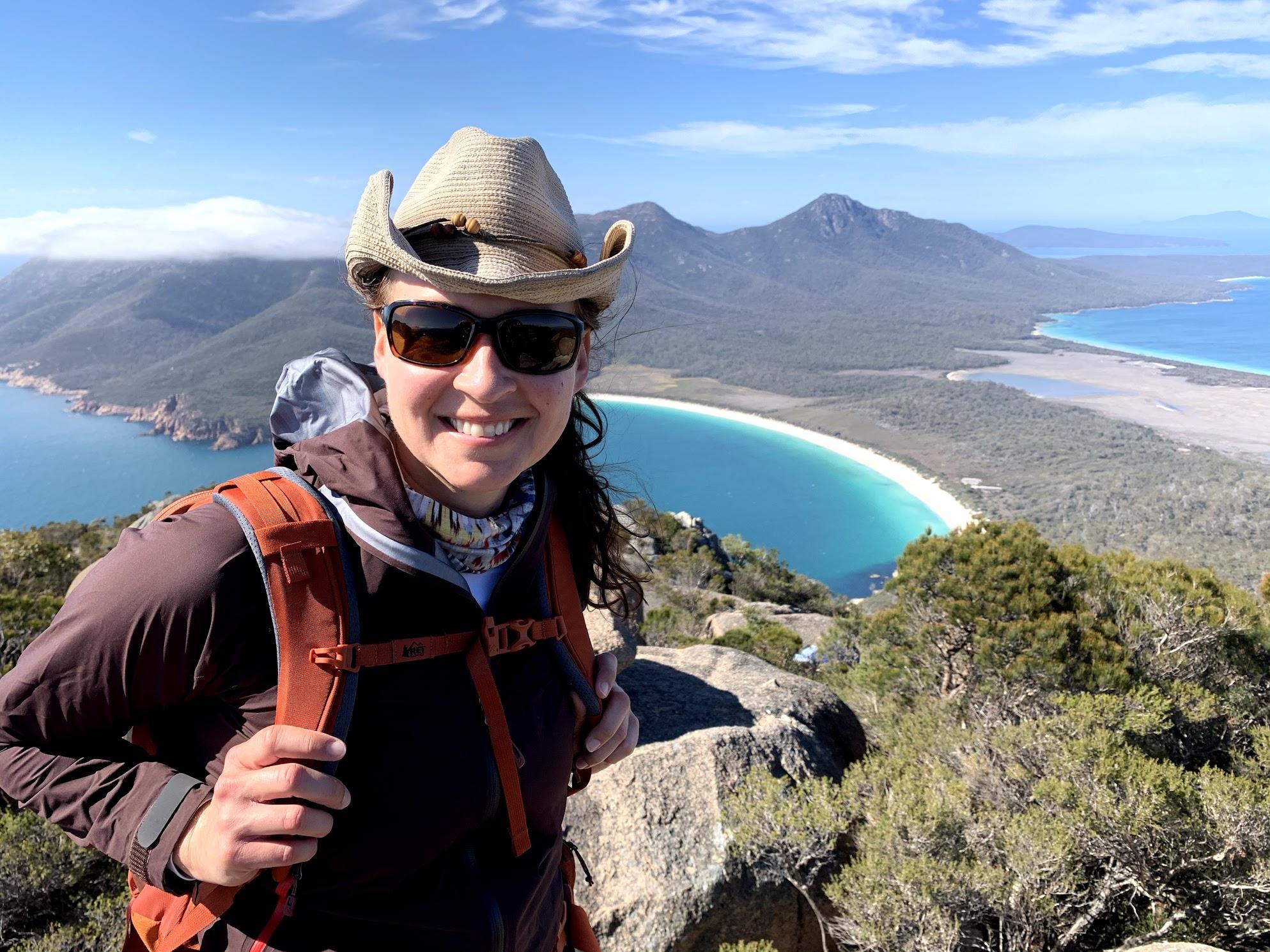 Dr. Jen - Summit Lookout - Wineglass Bay
