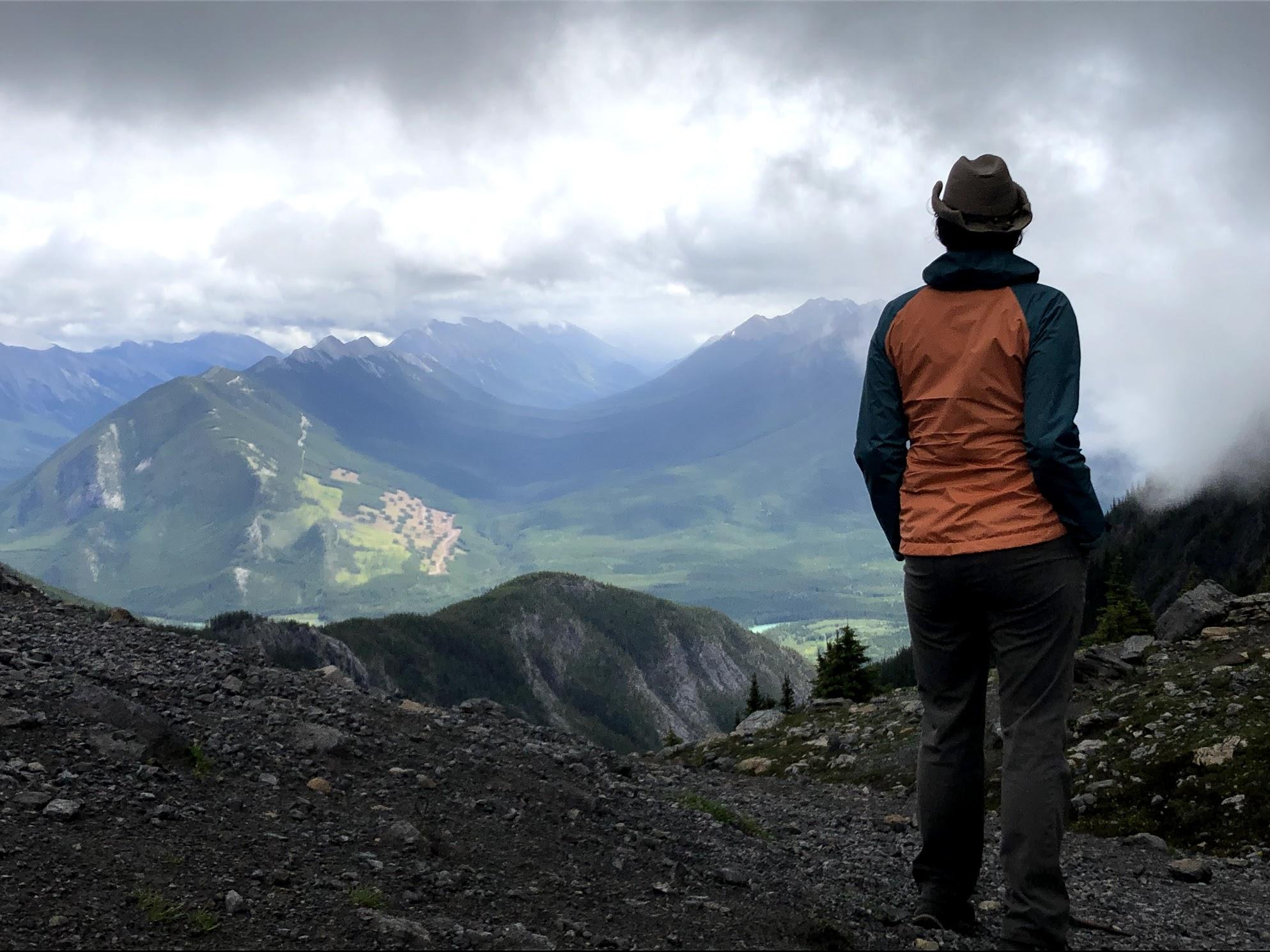 Staring Above Cory Pass (1)